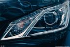 【スクープ!】間もなく2012年12月25日登場 トヨタ 新型 クラウン(14代目) ヘッドランプ(拡大)画像