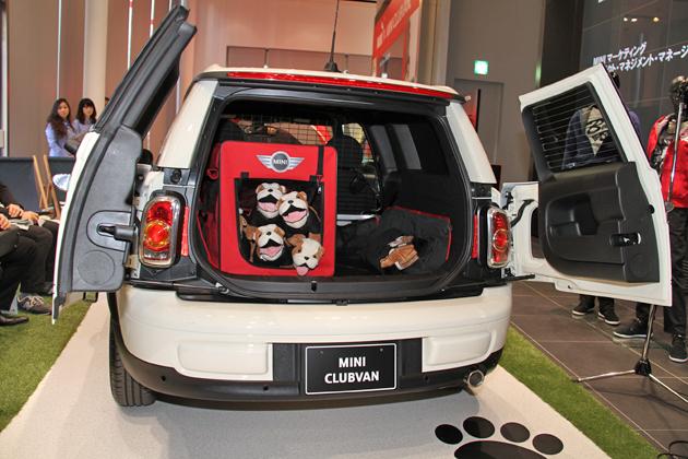 「MINI Clubvan(ミニ・クラブバン)」新型車速報 ~ミニの新型、今度は2シーターバン!~