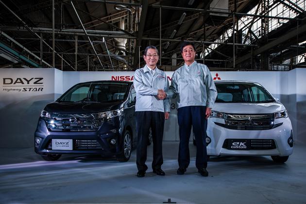 [日産 DAYZ/三菱 ekワゴン 新型車速報]日産と三菱、共同開発の新型軽自動車「DAYZ」「eKワゴン」の生産開始