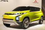 三菱自動車、コンパクトMPV「Concept AR」を世界初披露