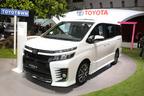 【東京モーターショー2013 現地速報】コンセプトと言いつつ、もはや市販バージョン!新型「ヴォクシー」・新型「ノア」ワールドプレミア!