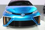 【東京モーターショー2013 現地速報】なんと2015年に燃料電池車が市販化!航続距離500km超えの「FCV-R」に「FV2」「JPNタクシー」3台のコンセプトカーが登場!