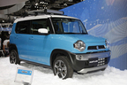 【東京モーターショー2013 現地速報】スズキの新型軽SUV「ハスラー」「ハスラークーペ」完成度の高さに圧倒!もしや市販化も間近!?