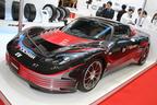 【東京モーターショー2013 現地速報】横浜ゴム、オリジナルEVのコンセプトカー「AERO-Y」などを展示