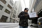 「Volkswagen presents 第2回カーソムリエ学生選手権」二次選考・最終選考会が開催された2月8日(土)は大雪に見舞われた