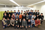 「Volkswagen presents 第2回カーソムリエ学生選手権」二次選考・最終選考会参加学生と評議員達
