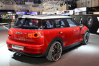 【ジュネーブショー2014】近い将来のフルモデルチェンジを示唆 ~「MINIクラブマン コンセプト」は4ドア・5人乗りへ進化した!~