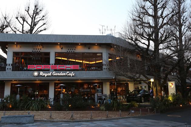Porsche Cafe Aoyama