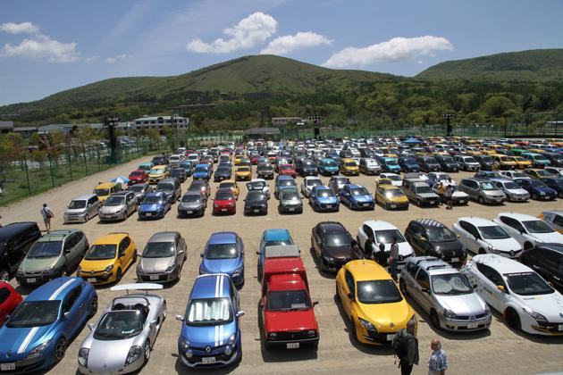 【第6回 ルノー カングージャンボリー 2014】カングー以外の来場車も多種多彩!