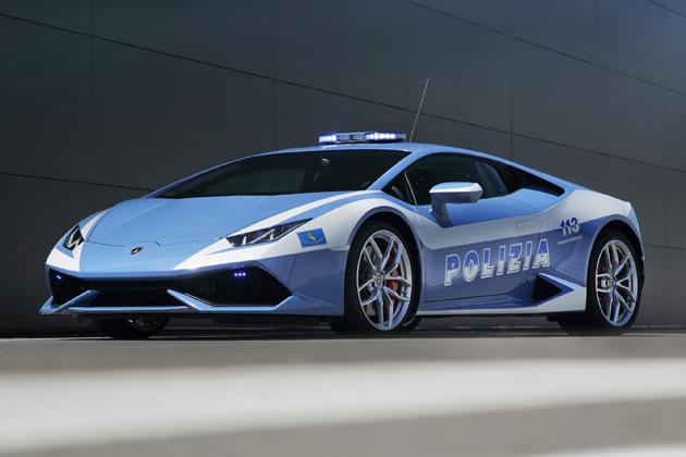 イタリア国家警察:ランボルギーニ ウラカン