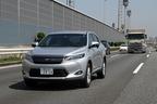 トヨタ 新型ハリアーハイブリッド(ELEGANCE)の高速道路燃費測定中/湾岸道路にて1