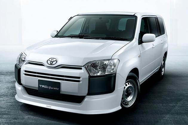 トヨタ「新型サクシード/新型プロボックス」用TRDパーツが発売