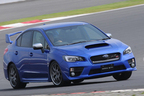 スバル 新型WRX STI/FSW本コース走行イメージ1