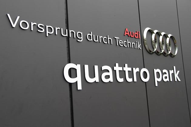 Audi driving experience quattro park