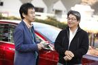 (左)自動車評論家の森口将之氏(右)テスラ モデルSオーナーの西牧哲也氏