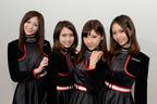 【速報】イメージガール「A-class」が美脚披露!朝から爽やかな笑顔で登場!【東京オートサロン2015】