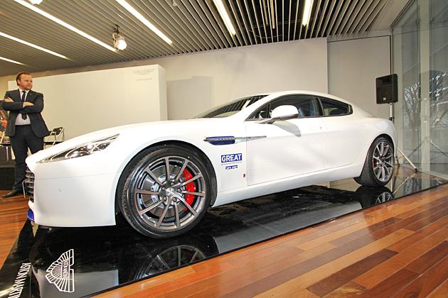 「Q by Aston Martin」の手によって特別にカスタムされた4ドアスポーツサルーン『ラピードS』