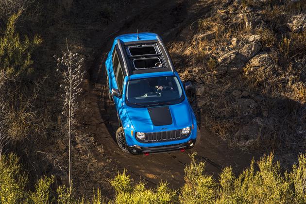 Jeep レネゲード 海外試乗レポート/九島辰也