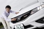 ホンダ ジェイド RS[1.5リッター VTEC-TURBOエンジン搭載モデル/ボディカラー:ホワイトオーキッド・パール/インテリアカラー:ブラウン・本革シート(オプション)]試乗レポート/岡本幸一郎