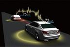 通信利用型レーダークルーズコントロール(車車間通信を活用)