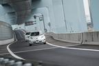 神奈川県と実証実験を行った日産の自動運転テスト車両(ベース車:リーフ)