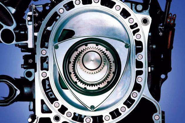 マツダのロータリーエンジン(13B)