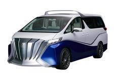 """トヨタ車体、""""クルーザー""""のようなアルファードなど異色のコンセプトカー5車種を東京モーターショーへ出展"""