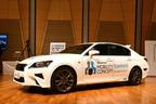 トヨタの自動運転「Mobility Teammate Concept」自動運転実験車(Highway Teammate:ベースモデルは「レクサス GS」)