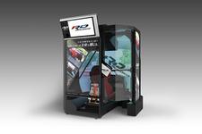 バンダイナムコ、スポーツ走行体感マシン「リアルドライブ」を世界初公開!スマホアプリ「ドリフトスピリッツ」も会場で試遊可能!