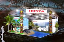 ホンダ、新型FCVを「スマートモビリティシティ2015」に出展