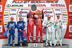 2015 SUPER GT 第2戦「FUJI GT 500km Race」で優勝したMOTUL AUTECH GT-R(松田次生/ロニー・クインタレッリ組)