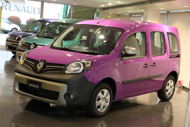 """恒例のカングー限定車、""""ブルターニュの風景""""を想わせる「紫」「緑」「青」の3色がデビュー"""