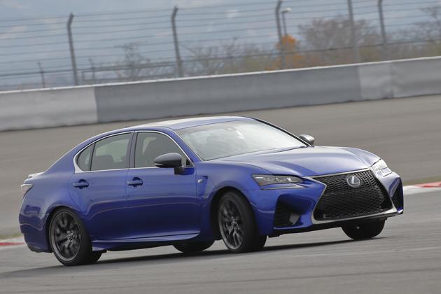 サーキット&公道でレクサスの最新スーパースポーツセダン「GS F」を速攻・徹底試乗