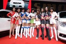 日産系レースクイーン大集合!現役女子高生RQも登場!【TAS2016】