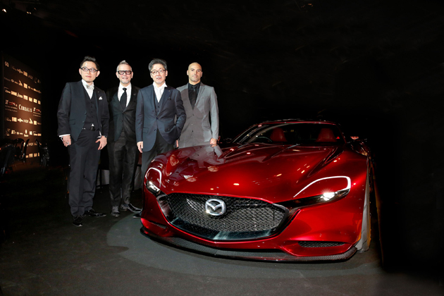 Mazda RX-VISION「Most Beautiful Concept Car of the Year」授与式