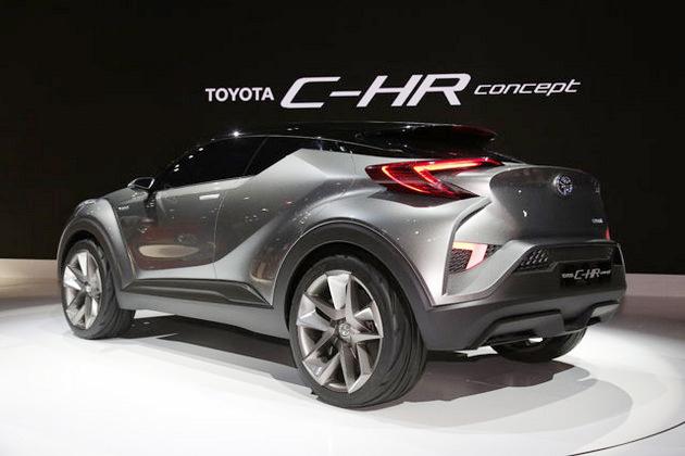 トヨタ C-HRconcept(東京モーターショー2015)