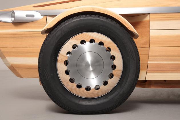 トヨタ「SETSUNA」/アルミニウムのホイールキャップ