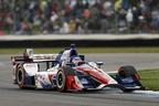 2016 インディカー・シリーズ 第5戦にて、佐藤琢磨選手の走り