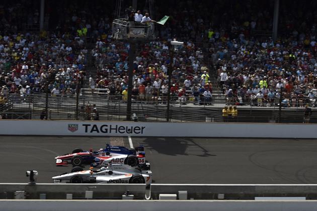 2015 インディカー・シリーズ 第6戦 インディアナポリス(インディ500)にて、佐藤琢磨選手の走り