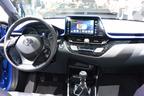 トヨタ C-HR パリショーで、これまで未公開だったインテリア全公開
