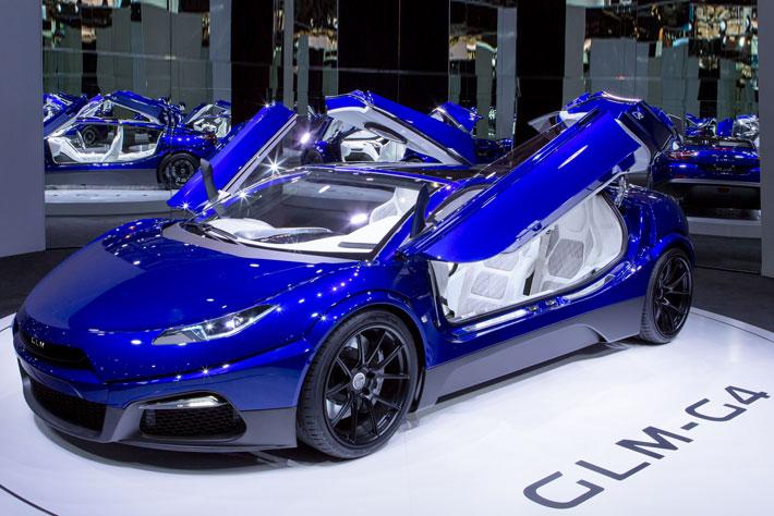 "GLM、香港で""スポーツEV""をアピール!開発中の次世代EVスーパーカーであるGLM-G4も登場!"