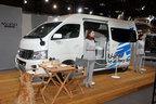 <日産 NV350キャラバン ・リチウムイオンバッテリー搭載グランピングカー>