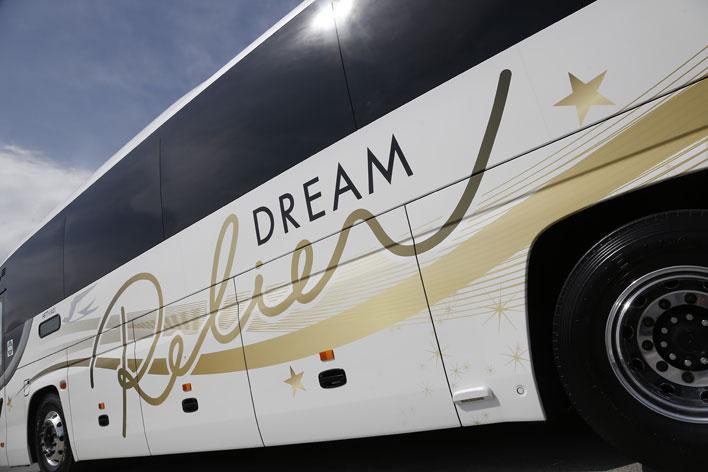 "<JR夜行高速バス ドリーム号 ""DREAM Relier""(ドリーム ルリエ)>[Photo:小林岳夫]"