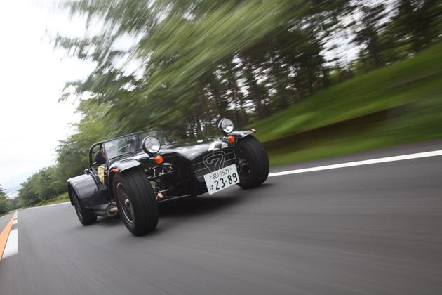 ケーターハム スーパー7 ロードスポーツ200 試乗レポート/日下部保雄 編