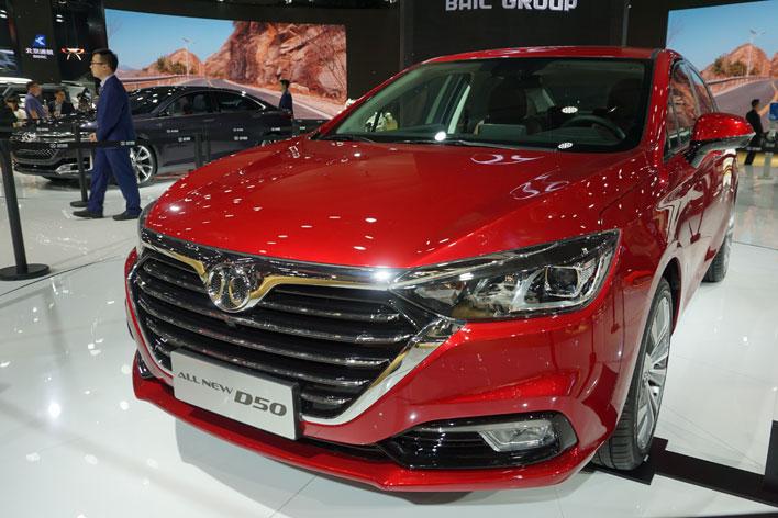 <サーブ(紳宝)ブース>MG・ローバー・サーブにフォード・・・日本で消えたあのブランドに中国で再会【上海ショー2017】