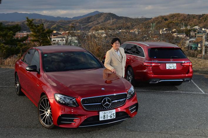 """メルセデス・ベンツ 新型 Eクラスの注目モデル、高性能版""""AMG E43 4MATIC""""と、人気No.1のディーゼル""""E220d""""に試乗"""