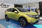 中国で発表された新型CR-V ハイブリッド