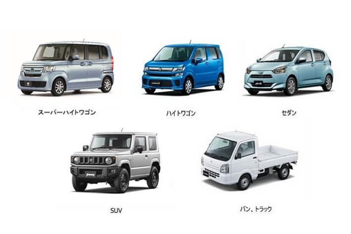 軽自動車の種類