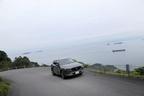 亀老山に向かう山道から瀬戸内海の絶景を望むCX-5
