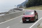 愛媛県今治市吉海町の県道をゆく、マツダ新型CX-5 XD PROACTIVE[AWD]